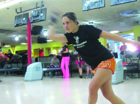 Becca Czlapinski finished 49th in the Western Bowl in Indianapolis, Ind. Photo by Sara Clifton.
