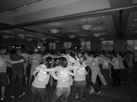 Last year's Dance Marathon was just the beginning for Ambrose. This year, students will dance for 8 hours straight to raise money for sick children and their families at the University of Iowa Children's Hospital. The Buzz/Submitted.