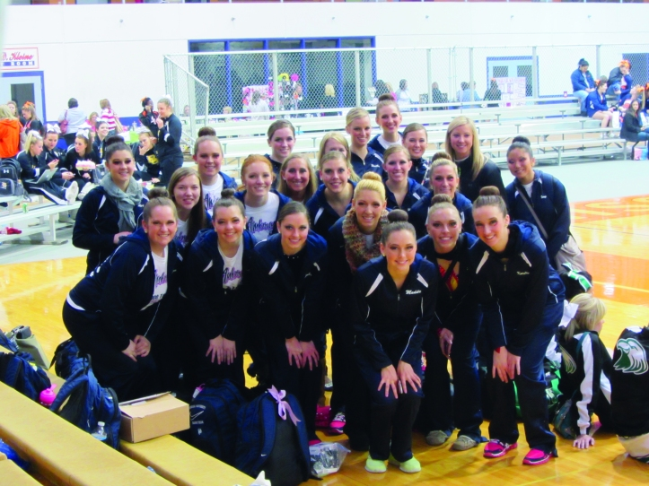 The dance team is prepared to defend their 2012 national championship. The Buzz/Submitted.
