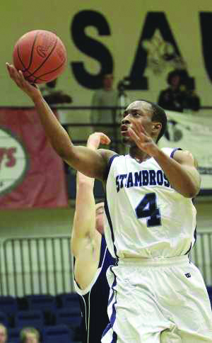 Nick Frazier has scored 1,000 points for SAU. The Buzz/Submitted.