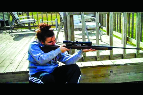 Chelsey McKee is one of millions of Americans who have recently looked into arming themselves. The Buzz/Submitted.
