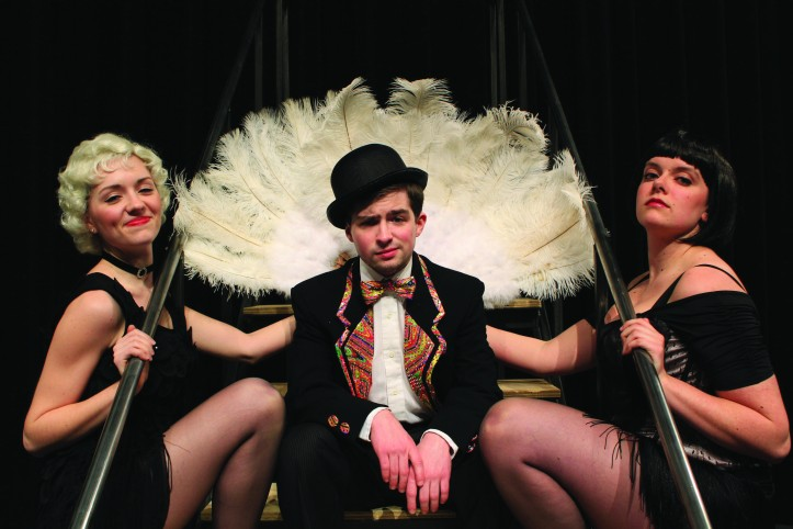 "Kelsey Francis, Tim Stompanato and Stephanie Seward will star in the musical ""Chicago"" opening Fri., April 19. Eileen Eitrheim/The Buzz."