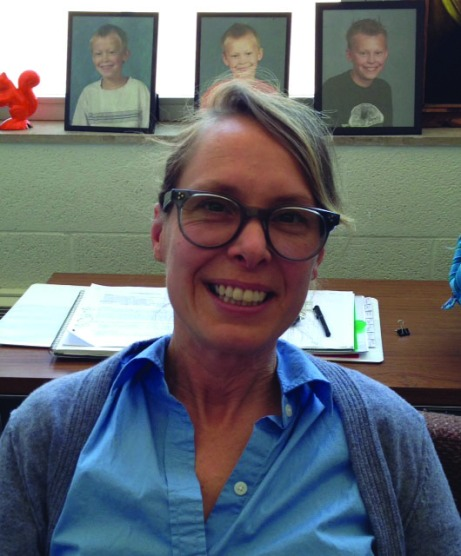 Assistant Professor Clea Felien started in January. Laura Whitting/The Buzz.
