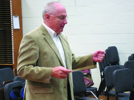 Keith Haan has been at SAU since August of 1999. He will retire this spring. Kyle Porter/The Buzz.