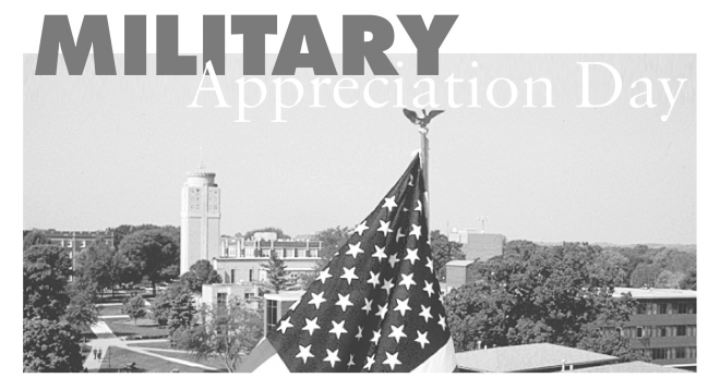 St. Ambrose will celebrate the men and women who serve our country on Military Appreciation Day.