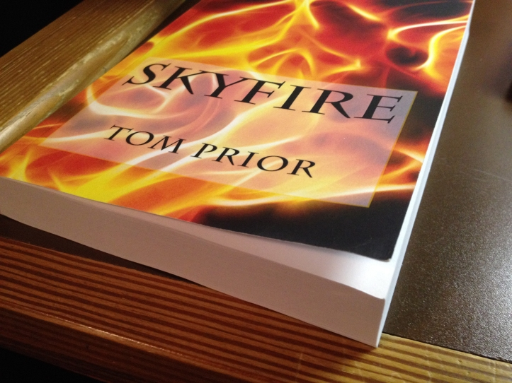 """Prior published """"Skyfire"""" five years after writing and editing it. Submitted/The Buzz."""