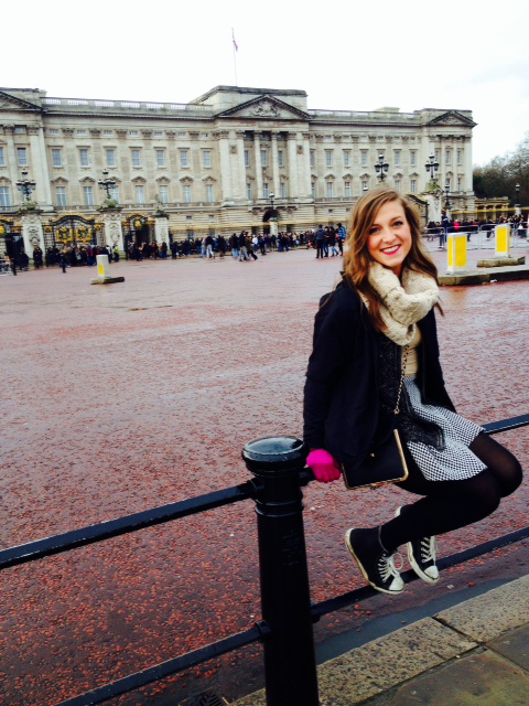 Carr is studying abroad in London. Submitted/The Buzz.