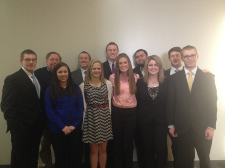 The team earned an at-large bid to the first round of the national competition. Submitted/The Buzz.